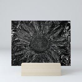 mirror of science Mini Art Print