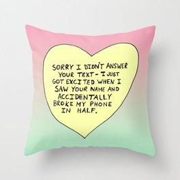 Bastard Heart (#4) Throw Pillow