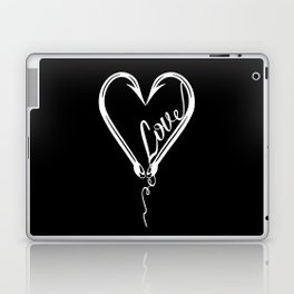 I Will Love You till the End of the Line Laptop & iPad Skin