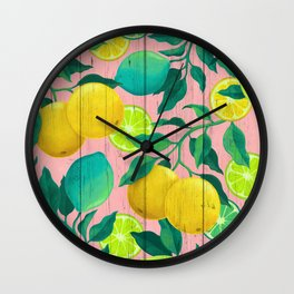 Citrus Wall Clock