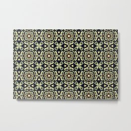 Tribal Clover Metal Print