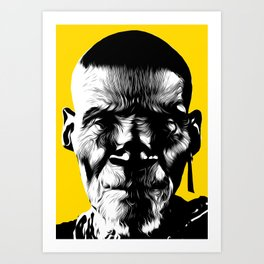 These Lines Art Print