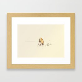 #coffeemonsters 66 Framed Art Print