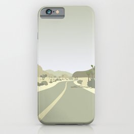 Joshua Tree Park - On the road iPhone Case