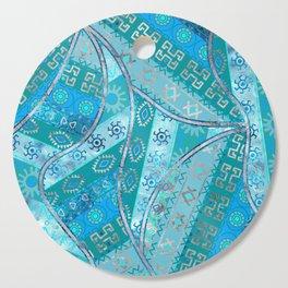 Ethnic Tribal Pattern Art N7 Cutting Board