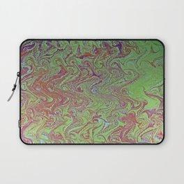 Thermal Curls Water Marbling Laptop Sleeve