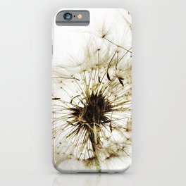 D A N D E L I O N  iPhone Case