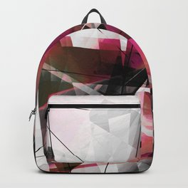 Echoes of Expansion - Geometric Abstract Art Backpack