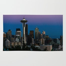 Seattle Blue Hour Rug