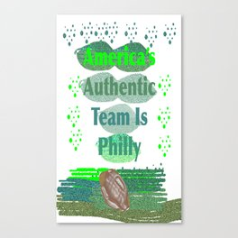 PhillyFootball1 Canvas Print