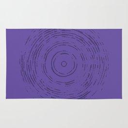 Violet Rainbow Rug