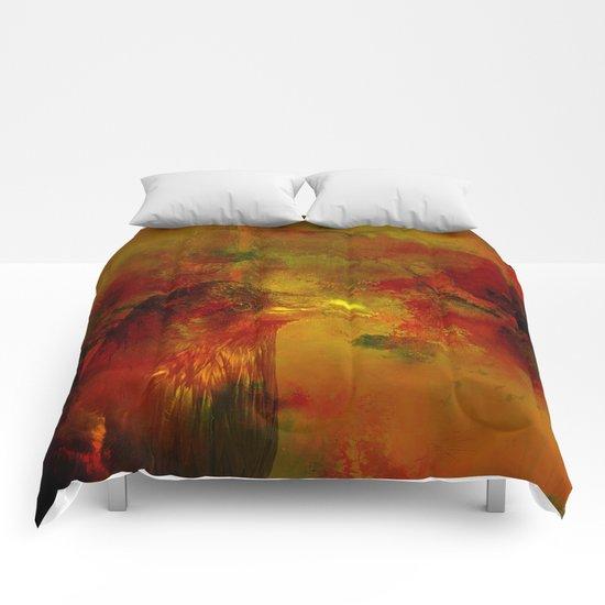 Melancholic crow Comforters