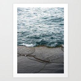 Planet Shores Art Print