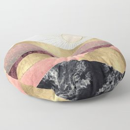Blush Sun Floor Pillow