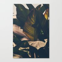 leaf Canvas Prints featuring Leaf by Chris Schoonover