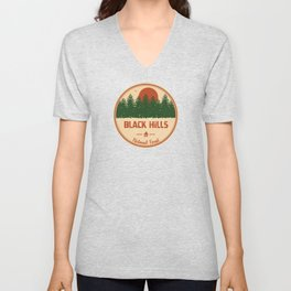Black Hills National Forest Unisex V-Neck