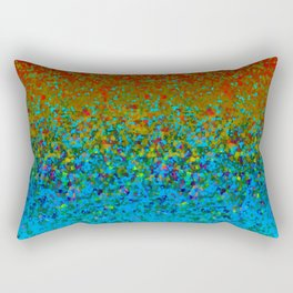 Glitter Dust Background G178 Rectangular Pillow
