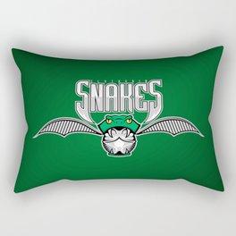 Snakes Slytherin Rectangular Pillow