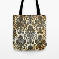 victorian Tote Bags featuring Victorian  by Tania Joy