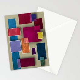Abstract #333 Stationery Cards