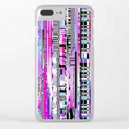 Glitch Ver.3 Clear iPhone Case
