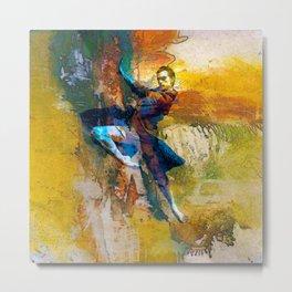 Abstract Dancer Metal Print