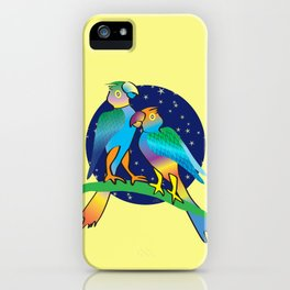 Talking To The Stars iPhone Case