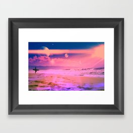 Pacific Coast Framed Art Print
