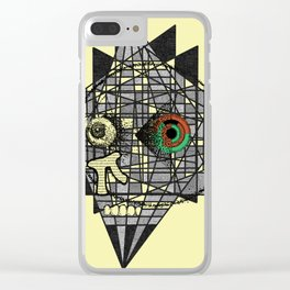 Distraction Clear iPhone Case