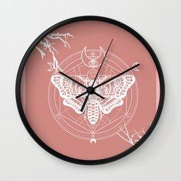 Witch Craft Autumn Wall Clock