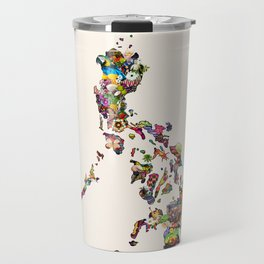 7,107 Islands | A Map of the Philippines Travel Mug