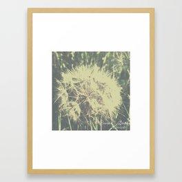 Vesnica papadie Framed Art Print