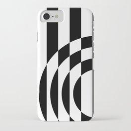 Hot Spot || Black & White iPhone Case