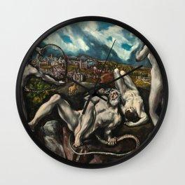 El Greco, Laocoon, 1610 Wall Clock