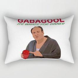 Gabagool Rectangular Pillow