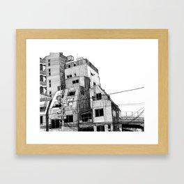 Ueno Framed Art Print