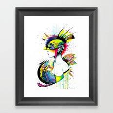 -City Girl- Framed Art Print