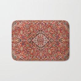Kashan  Antique Central Persian Rug Print Bath Mat