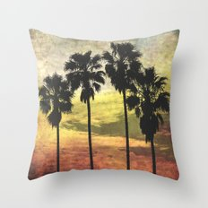 4 Palms Part Deux Throw Pillow