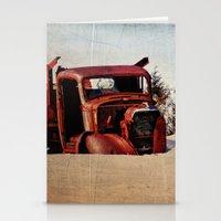 truck Stationery Cards featuring Survivor Truck by PamelasDreams