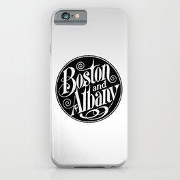BOSTON & ALBANY Railroad circa 1900 iPhone Case