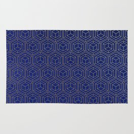 Hexagold Rug