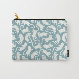 CATS BLUE Carry-All Pouch