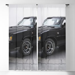 1987 Grand National Muscle Car Blackout Curtain