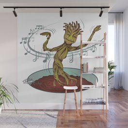 Guardians of the Galaxy - Dancing Baby GROOT Wall Mural