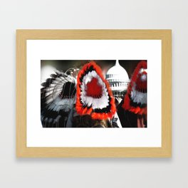 Our Time Comes Framed Art Print