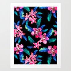 Tahitian Garden {B} Art Print