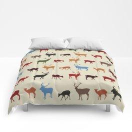 Christmass reindeer pattern Comforters