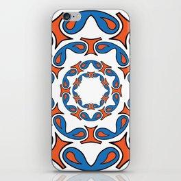 abstract mandala tribal iPhone Skin