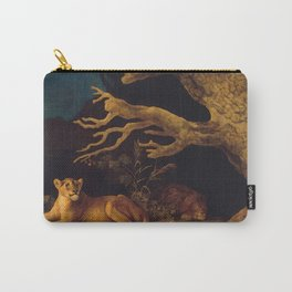 Lion and lioness - George Stubbs - 1771 Carry-All Pouch